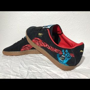separation shoes 8af3e 791d2 Puma X Santa Cruz Suede Retro Classic